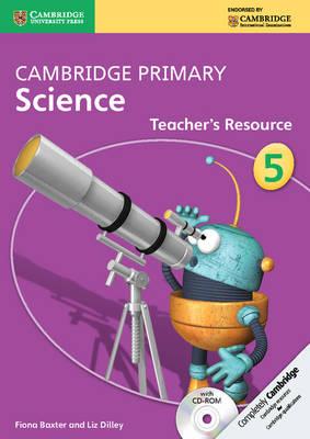 Cambridge Primary Science Stage 5 Teacher's Resource Book with CD-ROM - Cambridge Primary Science