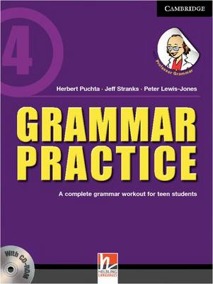 Grammar Practice Level 4 Paperback with CD-ROM: A Complete Grammar Workout for Teen Students