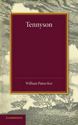 Tennyson: The Leslie Stephen Lecture, 1909 (Paperback)