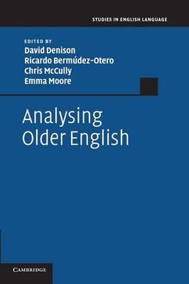 Analysing Older English (Paperback)