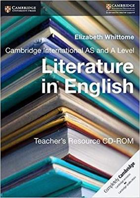 Cambridge International AS and A Level Literature in English Teacher's Resource CD-ROM (CD-ROM)