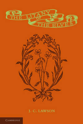 The Litany of the Elves (Paperback)