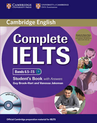 Complete IELTS Bands 6.5-7.5 Student's Pack (Student's Book with Answers with CD-ROM and Class Audio CDs (2)) - Complete