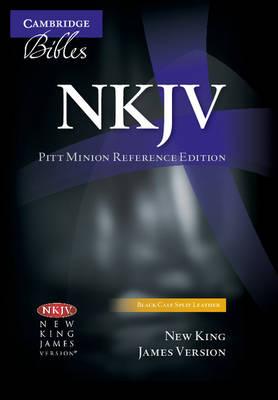 NKJV Pitt Minion Reference Edition NK444:XR black calf split leather (Leather / fine binding)