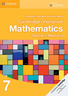 Cambridge Checkpoint Mathematics Teacher's Resource 7 (CD-ROM)