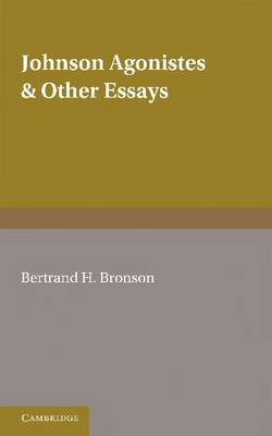 Johnson Agonistes and Other Essays (Paperback)