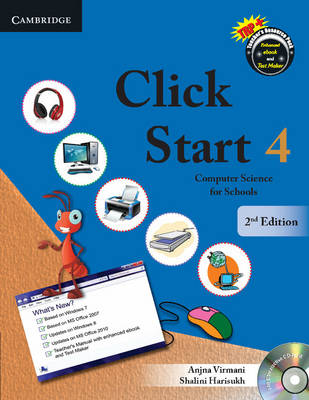 Click Start Level 4 Student's Book with CD-ROM: Computer Science for Schools - CBSE - Computer Science
