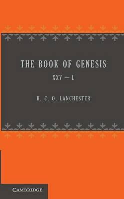 The Book of Genesis 25-50 (Paperback)