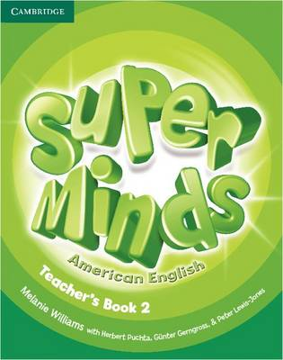 Super Minds American English Level 2 Teacher's Book (Spiral bound)