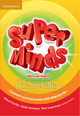 Super Minds American English Starter Classware and Interactive DVD-ROM