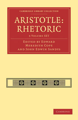 Aristotle: Rhetoric 3 Volume Paperback Set: Volume SET - Cambridge Library Collection - Classics