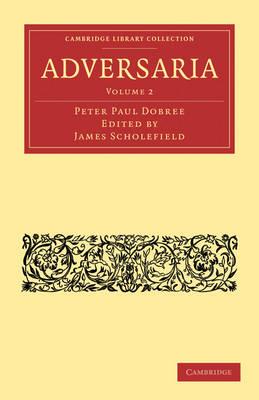 Adversaria - Adversaria 2 Volume Paperback Set Volume 1 (Paperback)