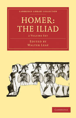 Homer, the Iliad 2 Volume Paperback Set - Cambridge Library Collection - Classics