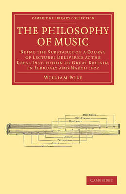 The Philosophy of Music: Being the Substance of a Course of Lectures Delivered at the Royal Institution of Great Britain, in February and March 1877 - Cambridge Library Collection - Music (Paperback)