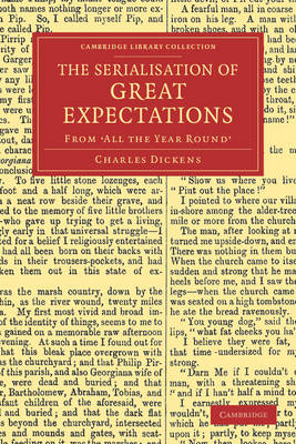 The Serialisation of Great Expectations: From 'All the Year Round' (December 1860-August 1861) - Cambridge Library Collection - Literary  Studies (Paperback)