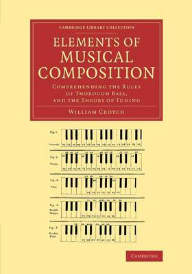 Elements of Musical Composition: Comprehending the Rules of Thorough Bass, and the Theory of Tuning - Cambridge Library Collection - Music (Paperback)