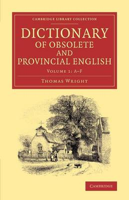 Dictionary of Obsolete and Provincial English: Containing Words from the English Writers Previous to the Nineteenth Century Which Are No Longer in Use, or Are Not Used in the Same Sense; and Words Which Are Now Used Only in Provincial Dialects - Dictionary of Obsolete and Provincial English 2 Volume Set Volume 2 (Paperback)