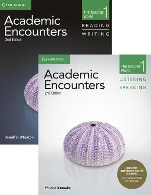 Academic Encounters Level 1 2-Book Set (R&W Student's Book with WSI, L&S Student's Book with Integrated Digital Learning): The Natural World
