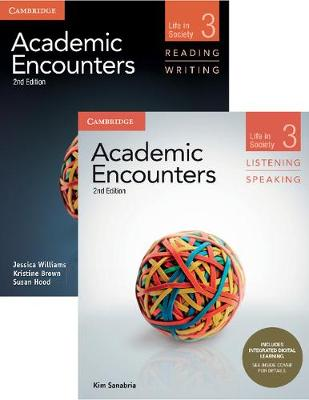 Academic Encounters Level 3 2-Book Set (R&W Student's Book with WSI, L&S Student's Book with Integrated Digital Learning): Life in Society