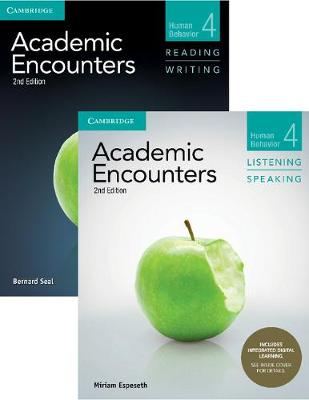 Academic Encounters Level 4 2-Book Set (R&W Student's Book with WSI, L&S Student's Book with Integrated Digital Learning): Human Behavior