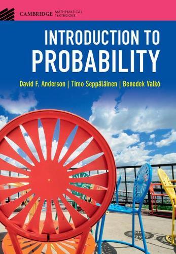 Introduction to Probability - Cambridge Mathematical Textbooks (Hardback)