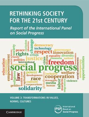 Rethinking Society for the 21st Century: Transformations in Values, Norms, Cultures Volume 3 (Hardback)