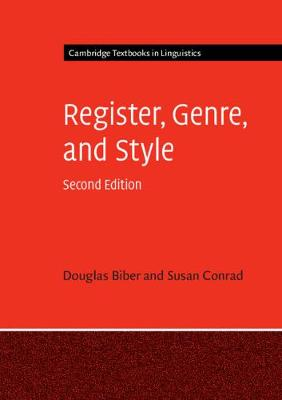 Register, Genre, and Style - Cambridge Textbooks in Linguistics (Paperback)