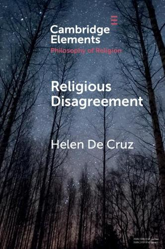 Religious Disagreement - Elements in the Philosophy of Religion (Paperback)