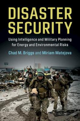 Disaster Security: Using Intelligence and Military Planning for Energy and Environmental Risks (Hardback)
