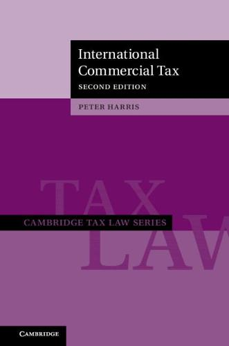 International Commercial Tax - Cambridge Tax Law Series (Hardback)