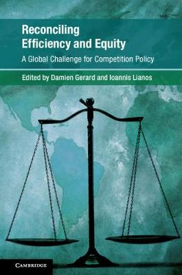 Global Competition Law and Economics Policy: Reconciling Efficiency and Equity: A Global Challenge for Competition Law? (Hardback)