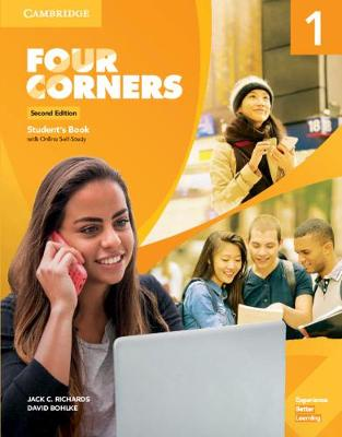 Four Corners Level 1 Student's Book with Online Self-Study