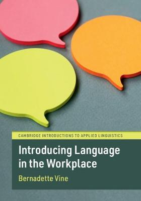 Introducing Language in the Workplace (Paperback)