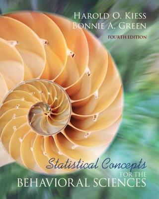 Statistical Concepts for the Behavioral Sciences (Paperback)