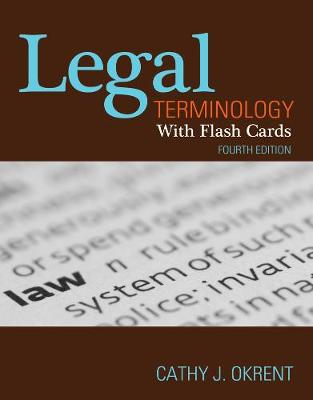 Legal Terminology with Flashcards (Paperback)
