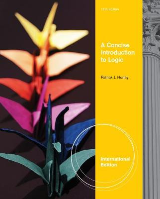 A Concise Introduction to Logic, International Edition (with Stand Alone Rules and Argument Forms Card) (Paperback)