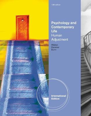 Psychology and Contemporary Life: Human Adjustment, International Edition (Paperback)