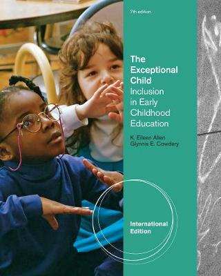The Exceptional Child: Inclusion in Early Childhood Education, International Edition (Paperback)