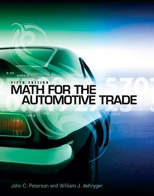 Math for the Automotive Trade (Paperback)