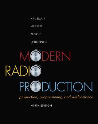 Modern Radio Production: Production Programming & Performance (Paperback)