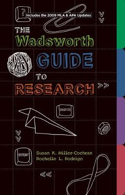 Wadsworth Guide to Research, Documentation Update Edition (Paperback)