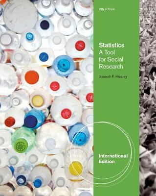 Statistics: A Tool for Social Research, International Edition (Paperback)