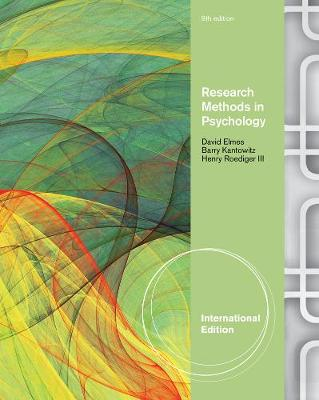 Research Methods in Psychology, International Edition (Paperback)