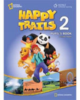 Happy Trails 2: Pupil's Book with Key (Paperback)