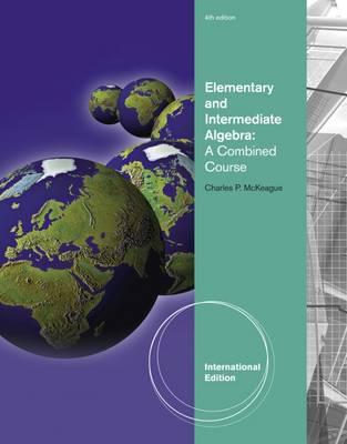 Elementary and Intermediate Algebra (Paperback)