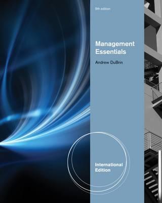 Management Essentials (Paperback)