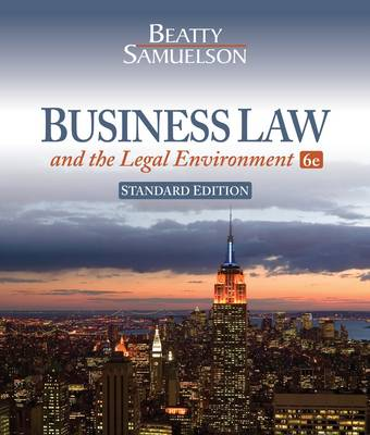 Business Law and the Legal Environment (Hardback)