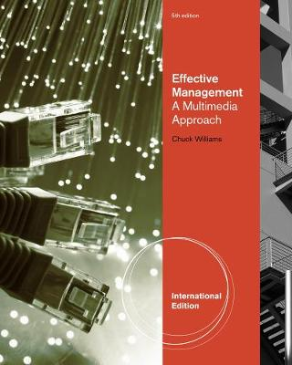 Effective Management: A Multimedia Approach, International Edition (Paperback)