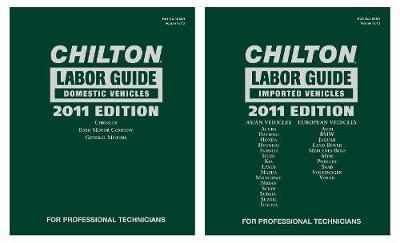 Chilton 2011 Labor Guides (Hardback)