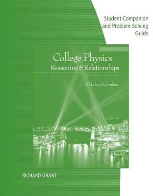 Student Companion with Problem Solve for Giordano's College Physics, Volume 2, 2nd (Paperback)